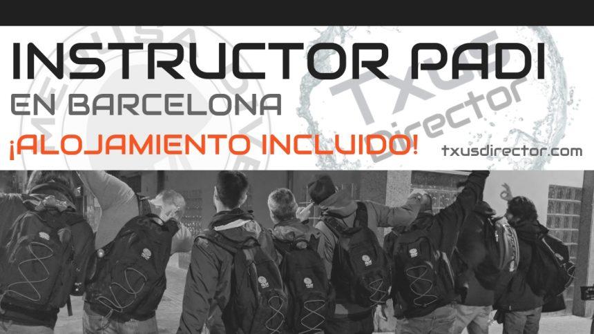 NUEVO! Curso de Instructor PADI con ALOJAMIENTO en Barcelona